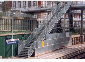 Schwerin Mitte BH Bahnsteig